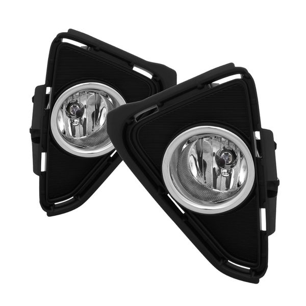 16-17 Toyota RAV4 Front Bumper Replacement Fog Lights