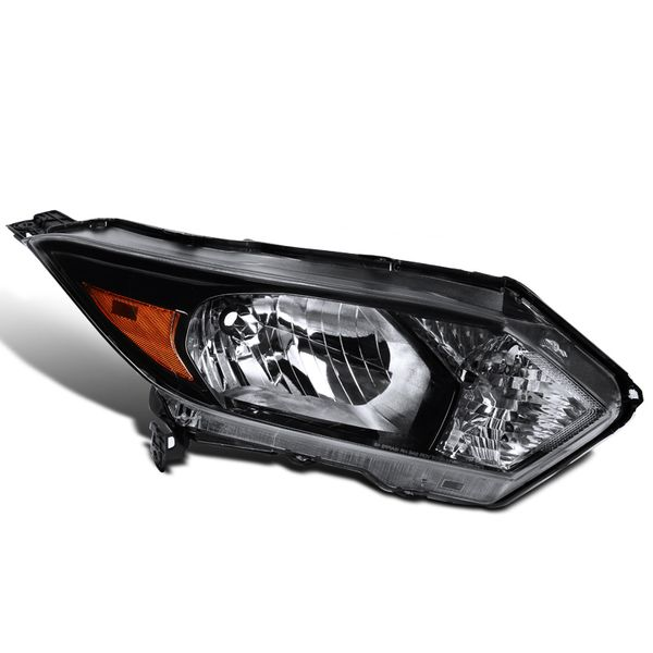 16-18 Honda HR-V HRV Black Passenger Side Right Halogen Headlights