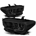 16-18 Toyota Tacoma OE-Style Projector Headlights - Smoked / Clear