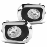 16-18 Toyota Tacoma Pickup Clear Bumper Lights Fog Driving Lamps+Switch