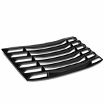 16-19 Chevy Camaro Coupe Rear Window Matte Vent Louver Style Sun Shade Cover