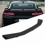 16-19 Chevy Camaro Factory ZL1 Style Matte Black ABS Rear Trunk Spoiler