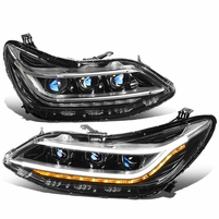 16-19 Chevy Cruze LED DRL+Sequential Chasing Turn Signal HID Projector Headlight
