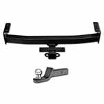 """16-19 Toyota Tacoma Class 3/Iii Trailer Hitch Tube+2"""" Ball Towing Mount Kit"""