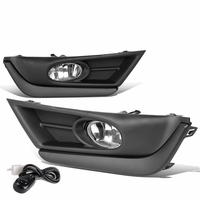 17-18 Honda CRV Pair Front Bumper Fog Light - Clear
