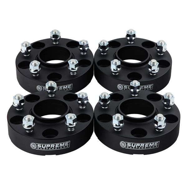 "Supreme Suspensions� 1987-1990 Dodge Dakota 1.5"" PRO Billet Wheel Spacer Set of 4 DGDK87WC1515"