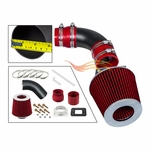 1987-1991 Toyota Camry Short Ram Intake Black Pipe With Red Kit