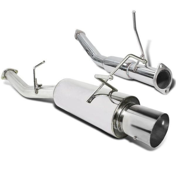 1989-1994 Nissan 240SX S13 T-304 Polished SS Cat-Back Exhaust System