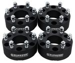 "1992-1999 Chevrolet Suburban 1500 4WD Only / 2000-2016 Chevrolet Suburban 1500 2WD and 4WD Supreme Suspension 2"" PRO Billet Wheel Spacer Set (Set of 4 spacers)"