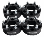 """1992-1999 GMC Yukon 4WD Only / 2000 GMC Yukon 2WD and 4WD (6-Lug Only) / 2001-2016 GMC Yukon 2WD and 4WD Supreme Suspension 2"""" PRO Billet Wheel Spacer Set (Set of 2 spacers)"""
