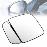 1992-2007 Ford E-150/250/350/450/550 OE Style Left Mirror Glass w/Plate