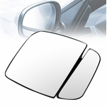 1992-2007 Ford E-150/250/350/450/550 OE Style Right Side Door Mirror Glass Lens w/Plate