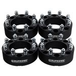 "1992-2013 Chevrolet Suburban 2500 2WD and 4WD Supreme Suspension 1.5"" PRO Billet Wheel Spacer Set (Set of 4 spacers)"