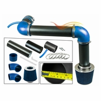 1993-1995 Chevy Camaro Cold Air Intake Black Pipe With Blue Kit