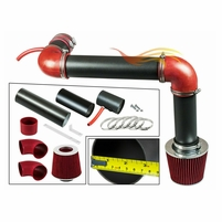 1993-1995 Chevy Camaro Cold Air Intake Black Pipe With Red Kit