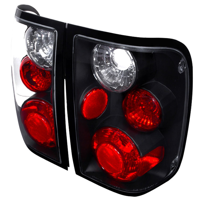 1993 1997 Ford Ranger Euro Style Altezza Tail Lights Black Click To Enlarge