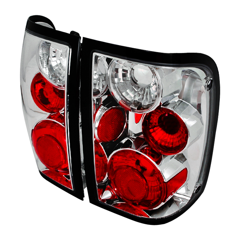 1993 1997 Ford Ranger Euro Style Altezza Tail Lights Chrome Click To Enlarge