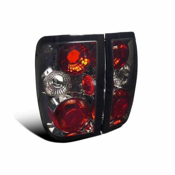 1993-1997 Ford Ranger Euro Style Altezza Tail Lights - Smoked