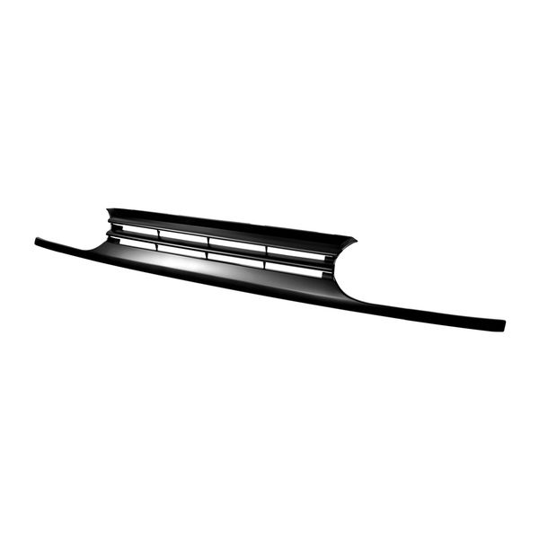1993-1999 VW Golf Upper Horizontal Style Abs Front Grille - Matte Black