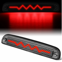 1993-2016 Ford Super Duty Mazda B Sequential Heart Rate LED Carbon Third Brake Light