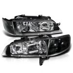 Spec-D 1994-1997 Honda Accord JDM Style Headlights With Corner Lens - Black
