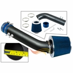 1995-1997 Chevy Cavalier Short Ram Intake Black Pipe With Blue Kit