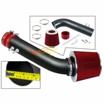 1995-1997 Chevy Cavalier Short Ram Intake Black Pipe With Red Kit