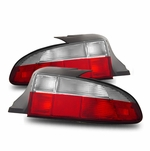 1996-1999 BMW Z3 Raodster Euro Style Tail Lights - Red / Clear