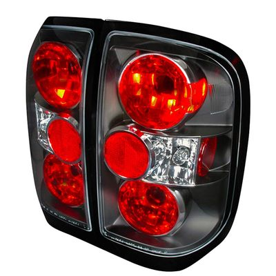 1996-2004 Nissan Pathfinder / Infiniti QX4 Euro Altezza Tail Lights- Black