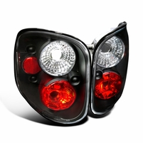 1997-2000 Ford F150 Flareside Pickup Altezza Tail Lights - Black
