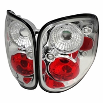 1997-2000 Ford F150 Flareside Pickup Altezza Tail Lights - Chrome