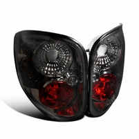 1997-2000 Ford F150 Flareside Pickup Altezza Tail Lights - Smoked