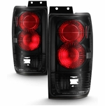 1997-2002 Ford Expedition Euro Altezza Tail Lights - Black