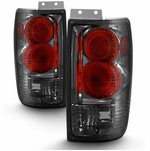 1997-2002 Ford Expedition Euro Altezza Tail Lights - Smoked
