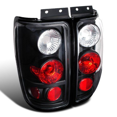 1997-2002 Ford Expedition Euro Style Altezza Tail Lights - Black