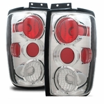 1997-2002 Ford Expedition Euro Style Altezza Tail Lights - Chrome
