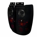 1997-2002 Ford Expedition Euro Style Altezza Tail Lights - Gloss Black / Smoked