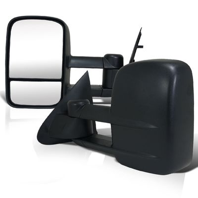 1997-2003 Ford F150 Light Duty (Regular / Super Cab) Manual Adjust Towing Side Mirrors