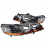 Spyder 1998-2002 Honda Accord Replacement Crystal Headlights - Black