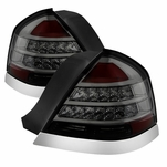 1998-2011 Ford Crown Victoria Performance LED Tail Lights - Smoked