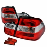 1999-2001 BMW 3-Series E46 [4-Door Sedan] Euro-Style Tail Lights - Red Clear
