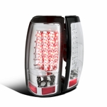 1999-2002 Chevy Silverado / GMC Sierra Performance LED Tail Lights - Chrome