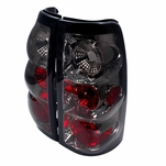 1999-2002 Chevy Silverado / GMC Sierra Euro Style Altezza Tail Lights - Smoked