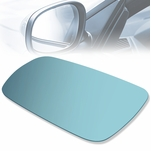1999-2006 Volkswagen Golf Jetta Passat Heated Left Mirror Glass Blue Lens