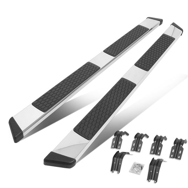 1999-2016 Ford Super Duty Super Extended Cab 5-inch Chrome SS Running Boards
