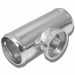 """2.5"""" Turbo Blow Off Valve Aluminum Flange Adapter Pipe For Type-SSQV Bov"""
