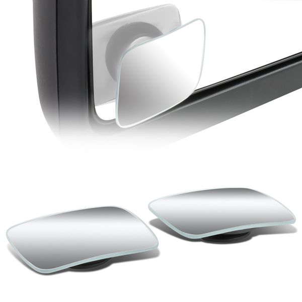 """2"""" Square Convex Back/Rear Tow Side View Blind Spot Mirror"""