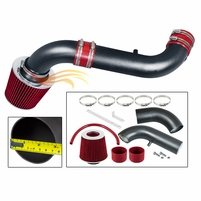 2000-2002 Dodge Durango Short Ram Intake Black Pipe With Red Kit