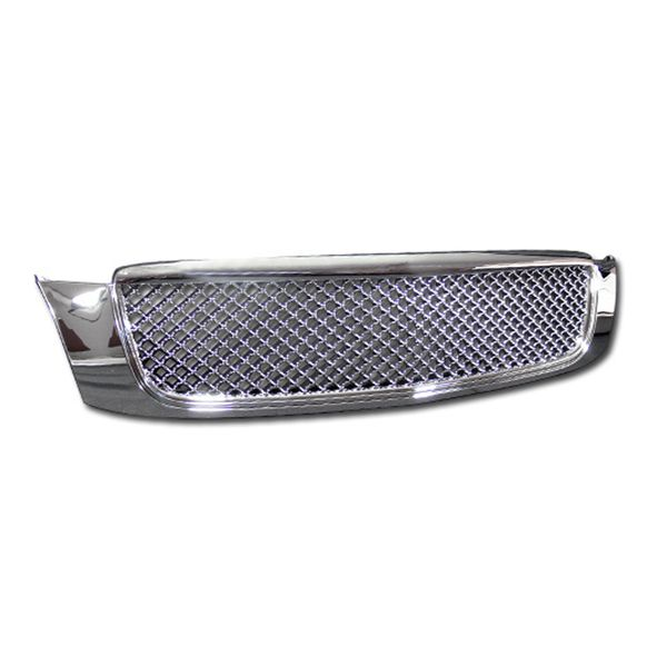2000-2005 Cadillac Deville Mesh Front Hood Bumper Grill Grille - Chrome