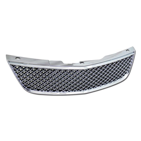 2000-2005 Chevy Impala Mesh Front Hood Bumper Grill Grille - Chrome